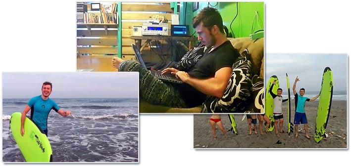 Journée Surf et Boulot