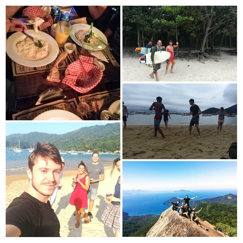 Damien à Ilha Grande