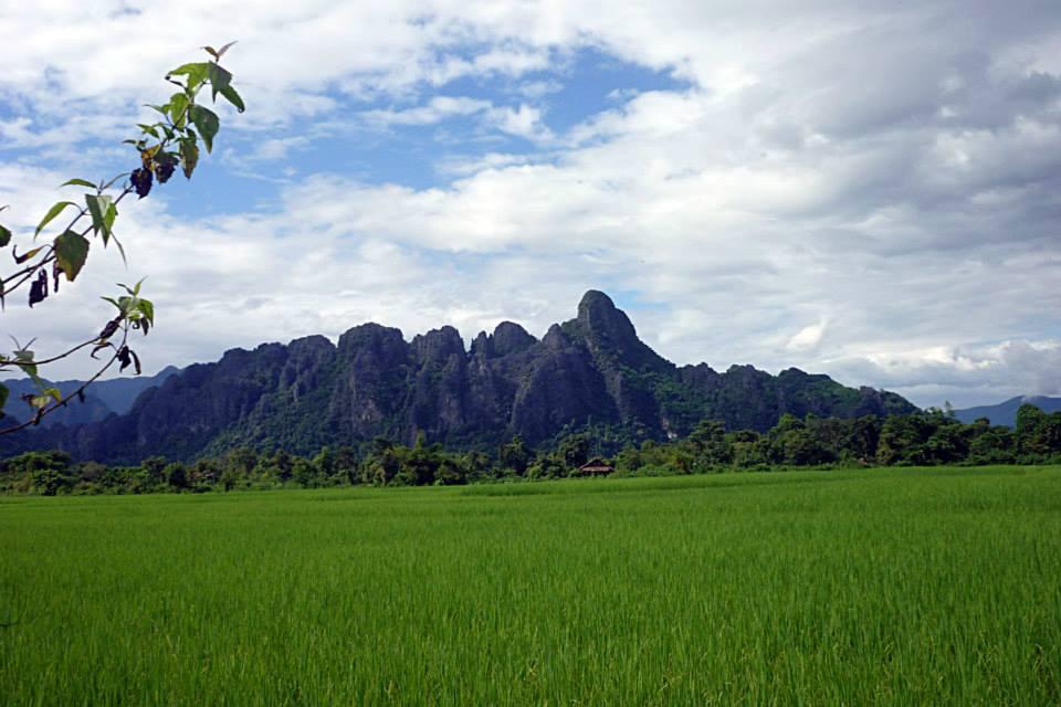 Paysage de là où j'ai rencontré le gars indépendant au Laos -PleinDeTrucs.fr