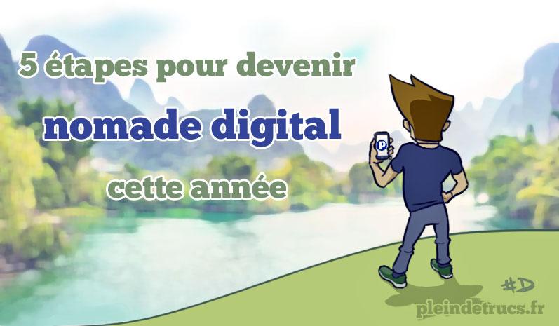 Digital Nomad PleinDeTrucs.fr Damien