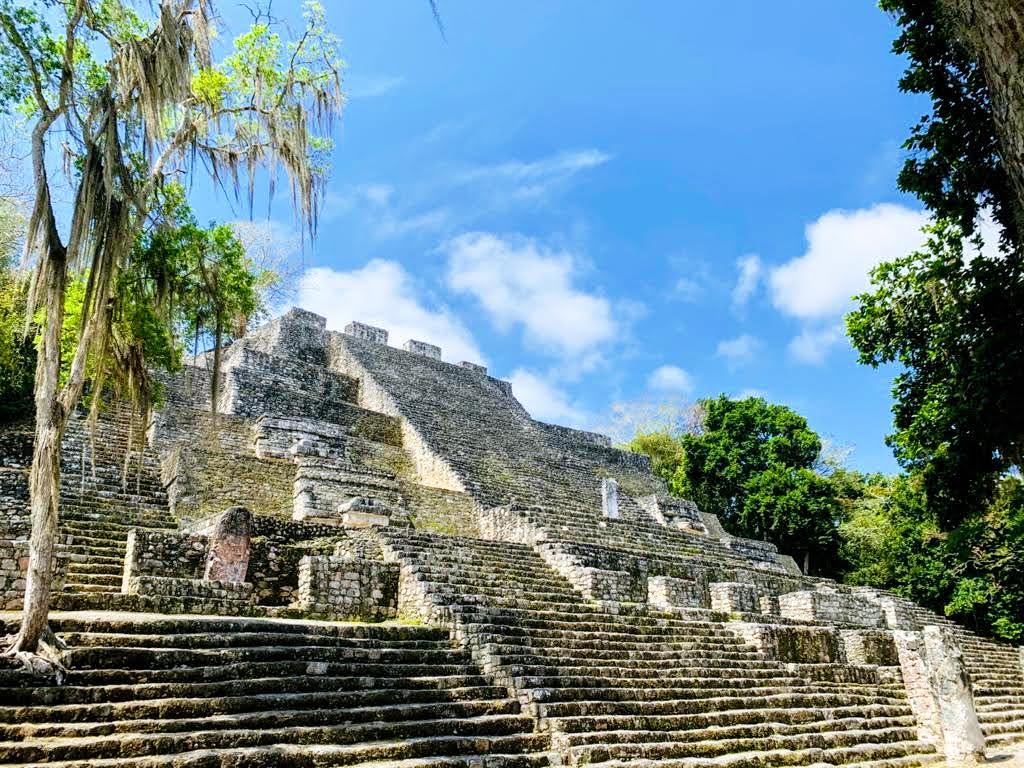 Pyramide de Calakmul au Mexique